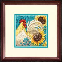 """70-65130 Набор для вышивания крестом """"Петух//Rooster"""" DIMENSIONS"""