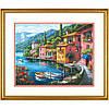 """70-35285 Набор для вышивания крестом """"Прибрежный город//Lakeside Village"""" DIMENSIONS Gold Collection"""
