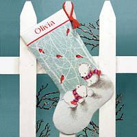"""70-08902 Набор для вышивания крестом """"Снежные мишки //Snow Bears Stocking"""" DIMENSIONS"""