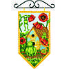 "72-74134 Набор для вышивания крестом ""Лето//Summer Mini Banner"" DIMENSIONS"