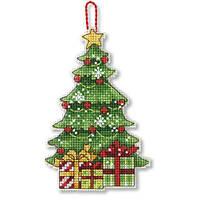 """70-08898 Набор для вышивания крестом """"Украшение Дерево//Tree Ornament"""" DIMENSIONS"""