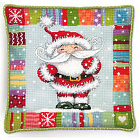 "71-09157 Набор для вышивания гобеленом ""Patterned Santa//Санта с узором"" DIMENSIONS"