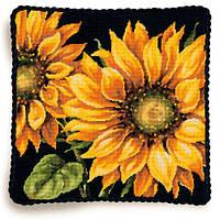 """71-20083 Набор для вышивания гобеленом """"Драматический подсолнух//Dramatic Sunflower"""" DIMENSIONS"""