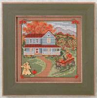 """MH144203 Набор для вышивания """"Harvest Home//Дом для урожая"""" Mill Hill"""