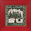 "MH142301 Набор для вышивания ""Home for the Holidays//Дом для праздников"" Mill Hill"