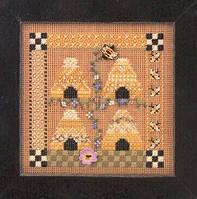 "MHCB98 Набор для вышивания ""Bee Square//Пчелиный дом"" Mill Hill"
