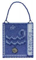 """MH161825 Набор для вышивания """"Aquarius//Водолей"""" Mill Hill"""