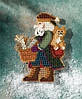 "MH207303 Набор для вышивания ""Smoky Mountain Santa//Санта"" Mill Hill"