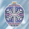 "MH211812 Набор для вышивания ""Royal Snowflake//Королевская Снежинка"" Mill Hill"