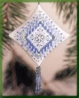 "MHTD24 Набор для вышивания ""Icy Snowflake//Ледяная снежинка"" Mill Hill"