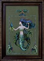 "MD98 Схема ""Bluebeards Princess Mirabella//Принцесса Мирабелла"" Mirabilia Designs"
