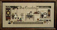"TG15 Схема ""The Courting//Ухаживание"" Told In The Garden"