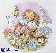 """K-18 Набор для вышивания крестом """"Сказочный сад"""" Мережка"""