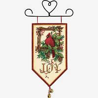 """08822 Набор для вышивания крестом """"Кардинал и радость//Cardinal Joy"""" DIMENSIONS"""