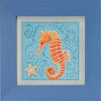 "MH141813 Набор для вышивания ""Seahorse//Морской конек"" Mill Hill"