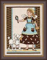 "DM302102 Набор для вышивания ""Pampered Pooch//Избалованная собачка"" Mill Hill"