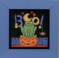 "DM303104 Набор для вышивания ""Boo Frog//Буу Лягушка"" Mill Hill"