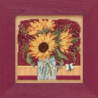 """MH141924 Набор для вышивания """"Sunflower Bouquet//Букет подсолнухов"""" Mill Hill"""