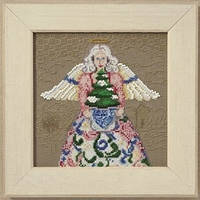 "JS300104 Набор для вышивания ""Winter Angel//Зимний ангел"" Mill Hill"