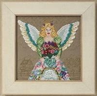 "JS300101 Набор для вышивания ""Spring Angel//Весенний ангел"" Mill Hill"