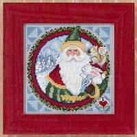 "JS149204 Набор для вышивания ""Father Christmas//Отец Рождества"" Mill Hill"