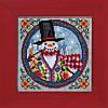 "JS149103 Набор для вышивания ""Eastern Snowman//Восточный снеговик"" Mill Hill"