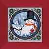 "JS149102 Набор для вышивания ""Southern Snowman//Южный снеговик"" Mill Hill"