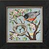 """MH145103 Набор для вышивания """"Spring Robin//Весенний Робин"""" Mill Hill"""