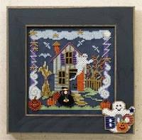 """MH146204 Набор для вышивания """"Boo House//Дом с привидениями"""" Mill Hill"""