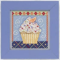 "MH141101 Набор для вышивания ""Vanilla Cupcake//Ванильный кекс"" Mill Hill"