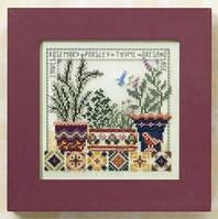 """MH148104 Набор для вышивания """"Herb Garden//Травяной сад"""" Mill Hill"""