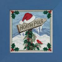"""MH141632 Набор для вышивания """"North Pole//Северный полюс"""" Mill Hill"""