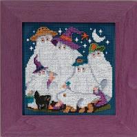 "MH145203 Набор для вышивания ""Ghost Family//Семья призраков"" Mill Hill"