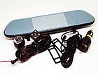"""Автомобильный видеорегистратор зеркало DVR V9TP Full HD 5"""" сенсорный экран 3 камеры, фото 5"""