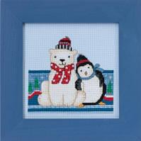 "DM301716 Набор для вышивания ""Polar Peace//Полярный мир"" Mill Hill"