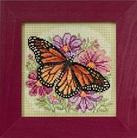 "MH145105 Набор для вышивания ""Winged Monarch//Крылатый монарх"" Mill Hill"