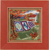 "MH141621 Набор для вышивания ""Country Quilts//Сельские одеяла"" Mill Hill"