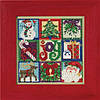 """MH145301 Набор для вышивания """"Joy of Christmas//Радость рождества"""" Mill Hill"""