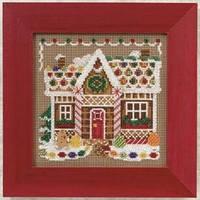 "MH140306 Набор для вышивания ""Gingerbread House//Пряничный домик"" Mill Hill"