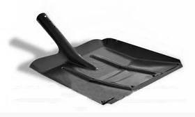 Лопата для снега металлическая без держака 360х340 мм