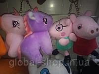 Милые зверята брелки на детскую сумку портфель,на ключи , 11 разновидностей, фото 9