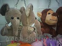 Милые зверята брелки на детскую сумку портфель,на ключи , 11 разновидностей, фото 8
