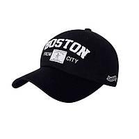 Черная кепка Boston- №5111