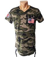 Мужская футболка камуфляж Sport Line - №5198