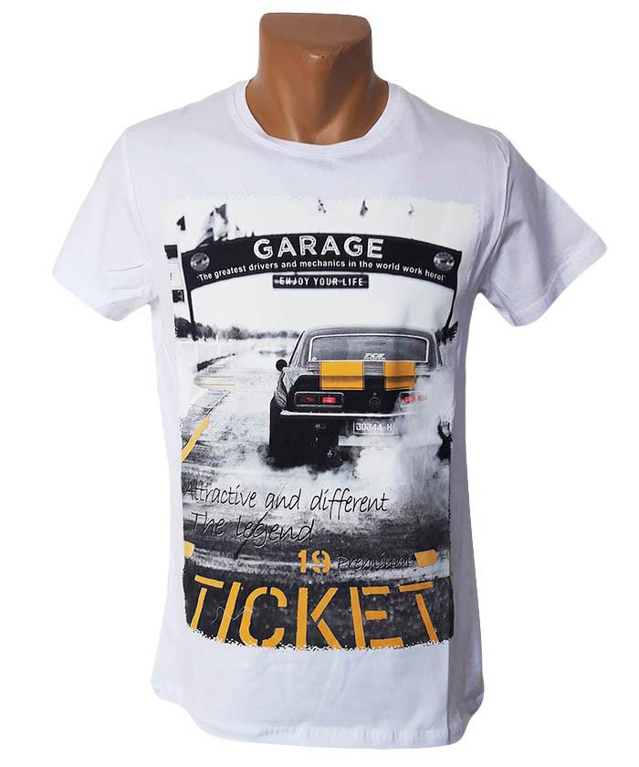 Мужская футболка Highlander - №5234