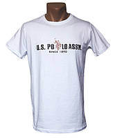 Стильная белая футболка Sport Line - №5314