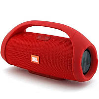 Портативная беспроводная bluetooth (блютуз) Колонка в стиле JBL Boombox Mini Красная (Живые фото)