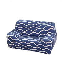 Чехол на кресло/полутрный диван натяжной Stenson R26299 90-145 см