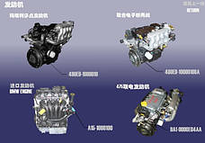 Двигатель SQR477F 1.5 SOHC 16V (109 л. с.)