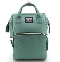 Сумка-рюкзак для мам Baby Bag 5505, бирюзовый